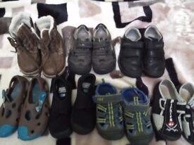 Boys shoes bundle size infant 7-7 1\2