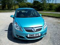 2010 Vauxhall Corsa 1.4 SE, 59K, Very High Spec, Half Leather Heated Seats /Steering Wheel,£3495