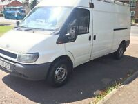 Ford transit starts & drives spares or repairs