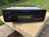 Land Rover CD player