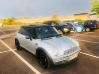 Mini Cooper 2003 lady owner years mot pan glass sunroof drive away bargain px swap wel