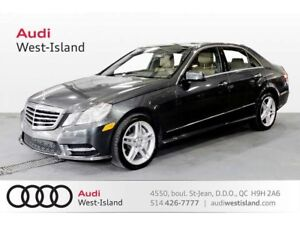 2013 Mercedes-Benz E-Class E550 Sedan 4MATIC CERTIFIED WARRANTY