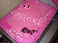Single Duvet Cover with Hello Kitty Pillowcase
