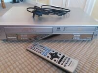 Video/dvd player combi with remote