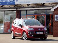 CITROEN C3 PICASSO 1.6 PICASSO CODE HDI 5d 90 BHP (red) 2012