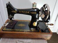 Singer Vintage Sewing machine(handle)