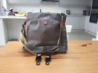 Grey genuine PacaPod changing bag