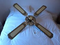 FANTASIA CLASSIC CONSERVATORY/BEDROOM CEILING FAN 52""
