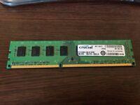 Crucial 4GB DDR3L-1600