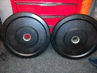 Bumper weight plates 15kg Strength Shop!