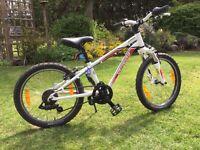 "Child's Specialized Hotrock 20"" 6 speed bike"