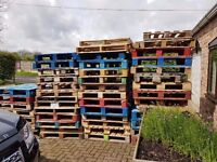 48 Pallets For Sale, Good Condition As Pictured - Collection Only