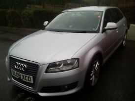ECO converted Hydrogen Hybrid, ECU Remapped, Cruise control, Leathers, Bright headlights, AUDI A3