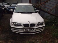 BMW 318 SE WHITE E46 5 DOOR