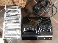 Ps3 with 2 pads and 24 games 73GB