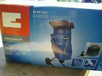 Garden shredder 2400watt.