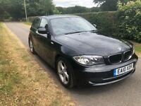 2010 BMW 1 SERIES 116i SPORT (2.0 PETROL) 5DR - FULL BMW SERVICE HISTORY - 1 OWNER FROM NEW