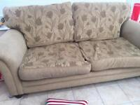 2 and 3/4 seater sofas