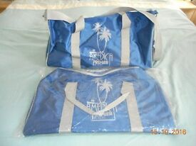 """2 OVER-NIGHT BAGS/HOLDALLS """"BRAND NEW"""""""