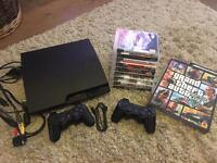 PS3 console and game bundle *like new*