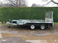 Ifor Williams gx105hd 3500kg plant trailer