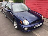 Subaru lmpreza 2.0 gs sport awd 2003 5 door station wagon mot February service history