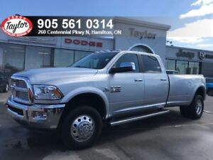 2017 Ram 3500 Laramie 4x4 6.7L Diesel Duelly w/8 Foot Box