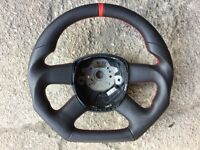 AUDI A3 A4 A5 A6 A8 BRAND NEW MODIFICATION STEERING WHEEL