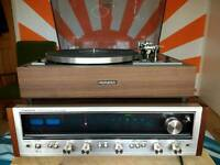 Vintage re-capped Pioneer SX636 Receiver/Amplifier + PL12D-2 Turntable