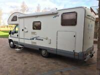 Motorhome Ace Roma 6 berth fixed bed under garage only 27,000 miles