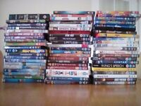Collection of 61 DVDs