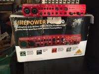 Behringer firepower sound card Fca 610