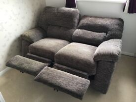 2 Seater Electric Recliner Sofa. Like new, RRP £1300