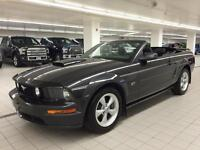 2008 FORD MUSTANG GT CONVERTIBLE, CUIR