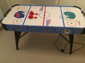 BCE Power Puck electric air hockey table (4ft) - great condition and perfect for adults & children