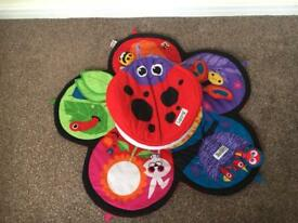 Tomy Lamaze Spin Tummy Time Play Mat