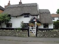 For Sale *** Grade 11 Listed Thatched 2 Bedroom Cottage Wymeswold ***
