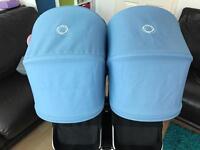 Bugaboo Donkey ice blue hood
