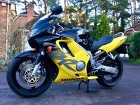 Honda CBR600F 14000 Miles CBR 600 CBR600 Not Bandit GSXR SV650