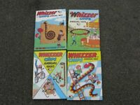 Whizzer and Chips Annuals x 4