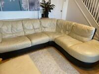 Leather corner sofa FREE