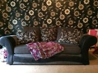 X2 3 seater sofas / settee
