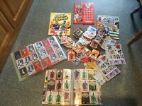 Very large collection of football cards etc. Going for a BARGAIN price for all.
