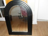 SOLID WOOD ARCH MIRROR (20 x 26 INCHES)