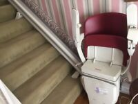 Stannah 600 stairlift -straight 4Metres