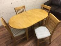 Kitchen table + 4 chairs (free delivery)