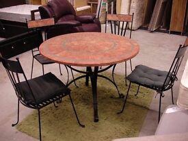 Garden table. Get ready for summer :-)