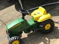 Children's ride tractor