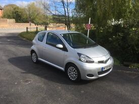 Toyota Aygo Platinum - only 21,000 miles from new - excellent overall condition - service history