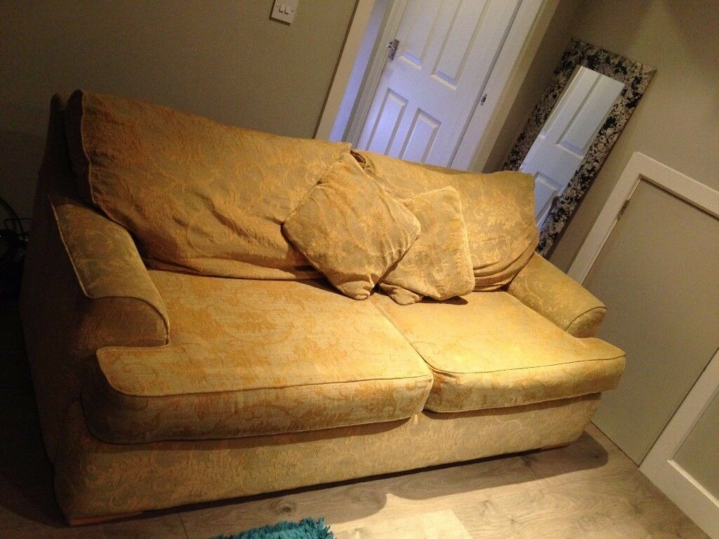 luxury relyon double sofa bed for sale - needs a home! | in york
